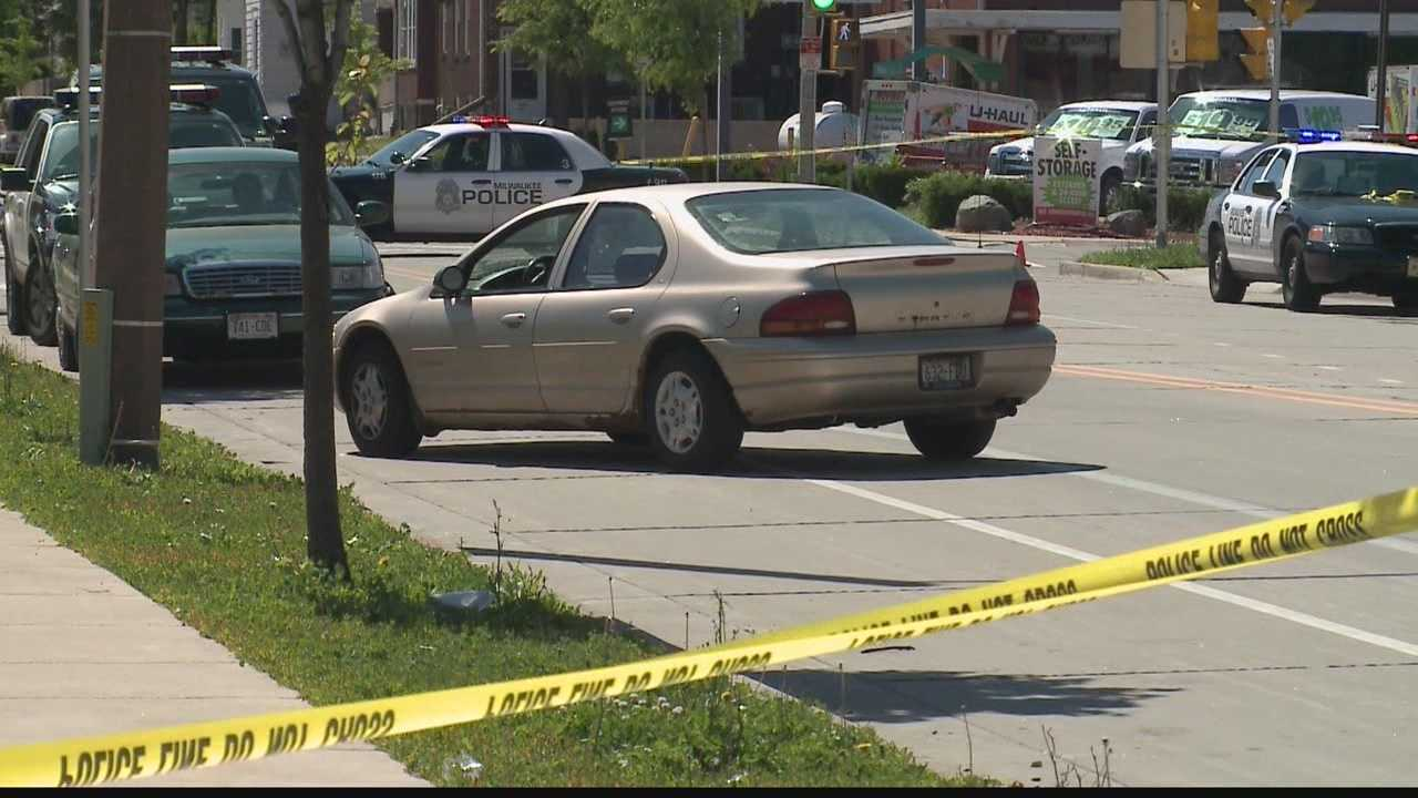 A 4-year-old boy was struck by a passing car near 20th and State streets after he darted into the road between two parked cars.