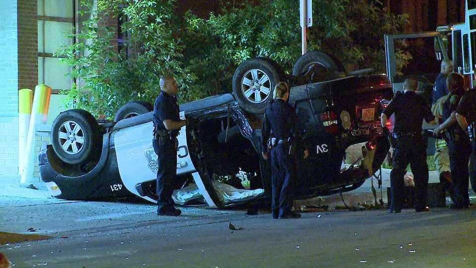 MPD SUV involved in crash