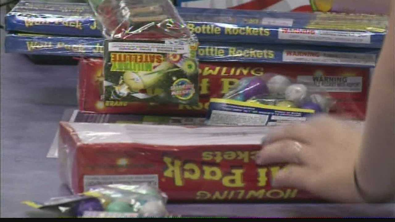 12 News talks with people buying fireworks on how to celebrate safely