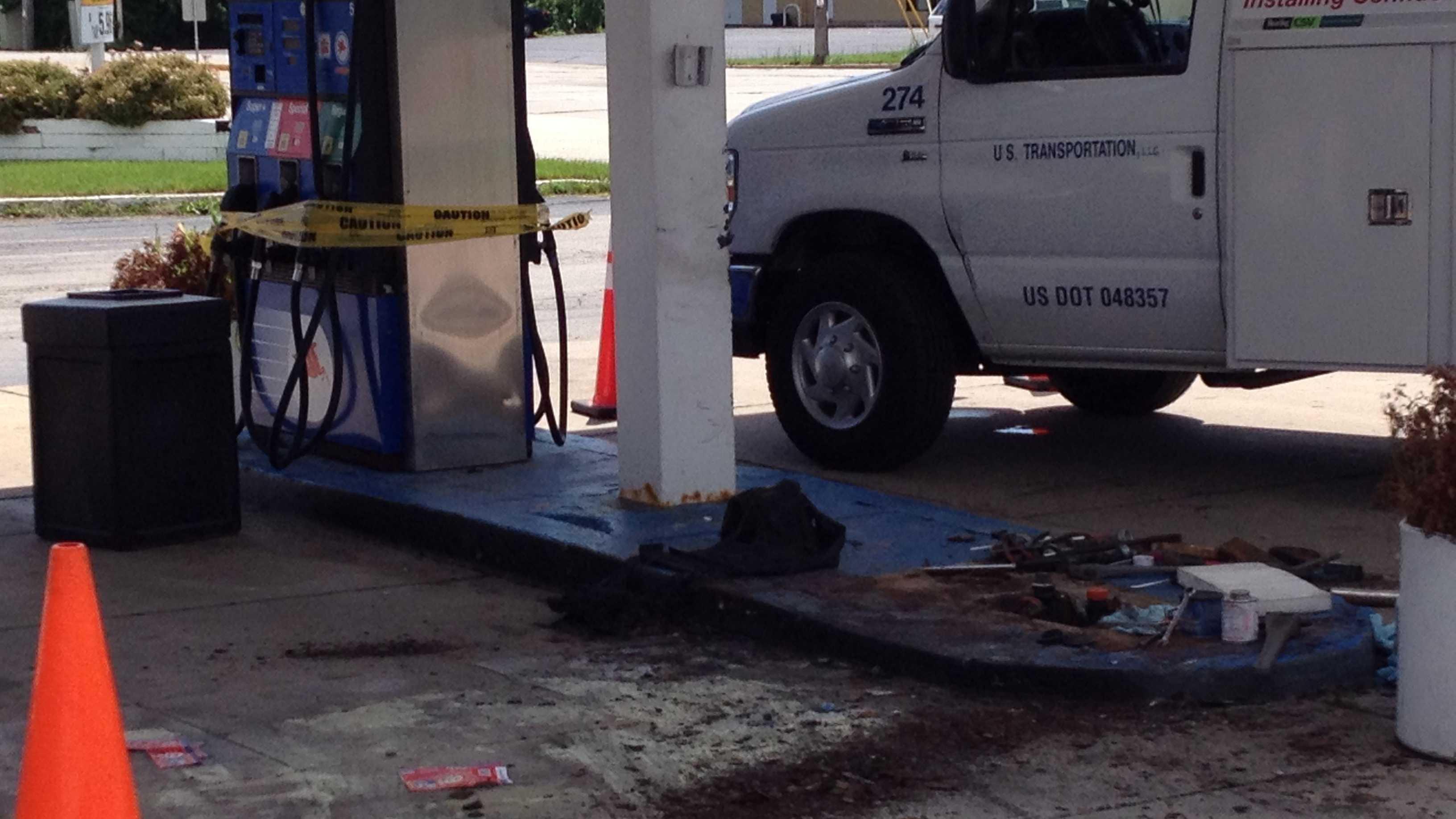 Caledonia gas pump1