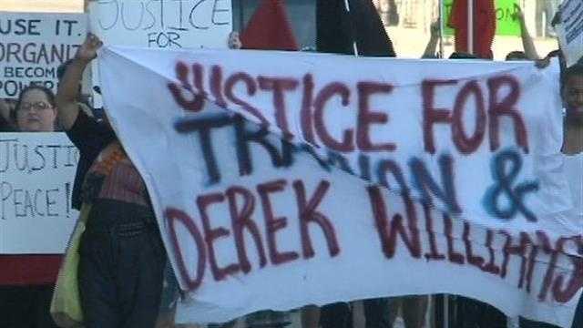 Rallies protesting Zimmerman verdict held in Milwaukee