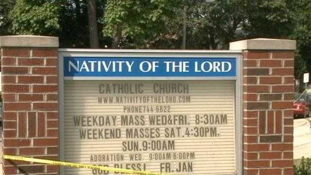 Mass was canceled Sunday at a Cudahy church following the death of their priest.