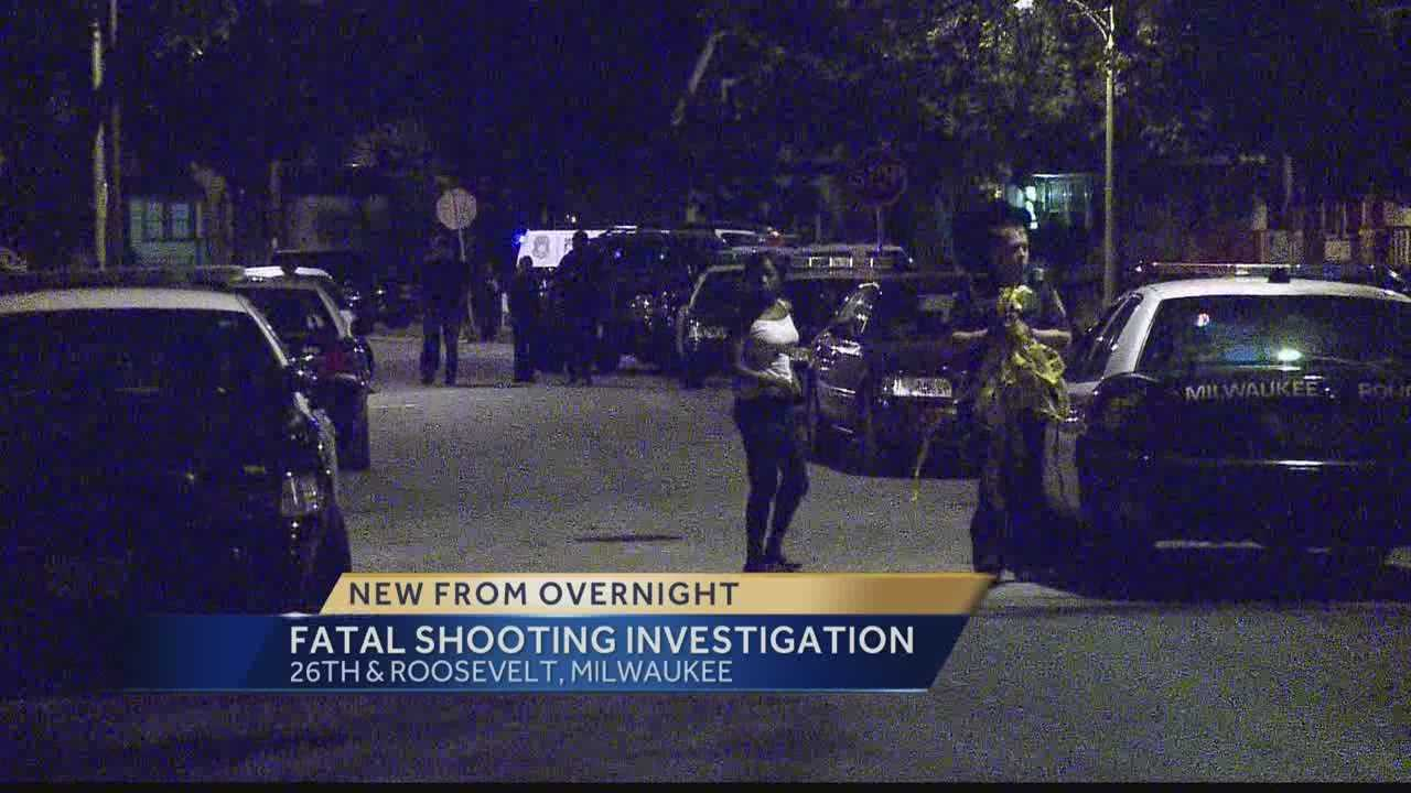 Milwaukee Police are investigating a fatal shooting early Thursday morning.