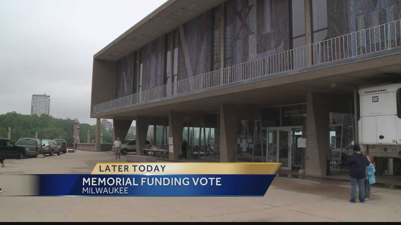 Milwaukee County officials will vote on a plan to fund the Milwaukee War Memorial and the Milwaukee Art Museum.  WISN 12 News' Hillary Mintz reports.