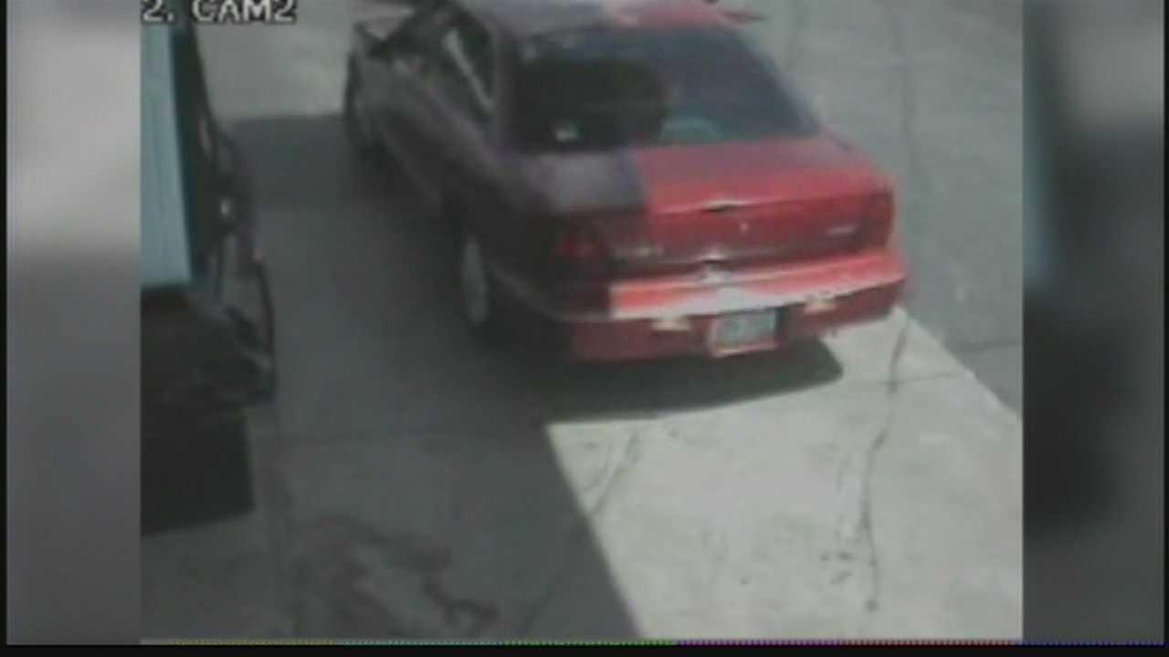 Man caught on surveillance video stealing gas from Menomonee Falls gas station