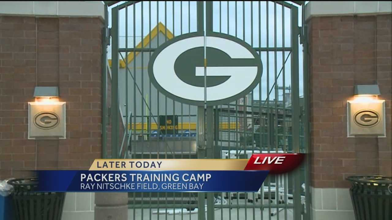 The Green Bay Packers open their training camp today.  WISN 12 News Hillary Mintz reports from Green Bay.