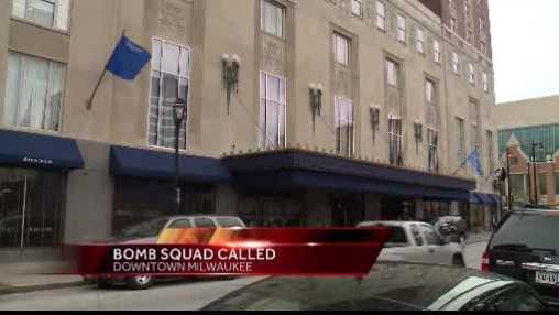 Bomb squad Hilton
