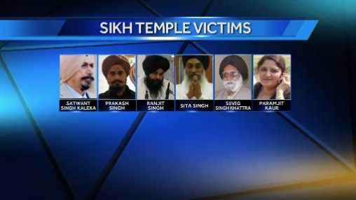 Sikh temple victims - new grfx