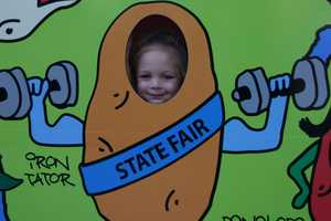 Many photo ops to help you remember your time at the fair.