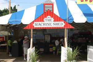 The Machine Shed is the restaurant that has also brought deep fried butter, chocolate covered bacon, Krispy Kreme cheeseburger and deep fried pb&j to the fair.