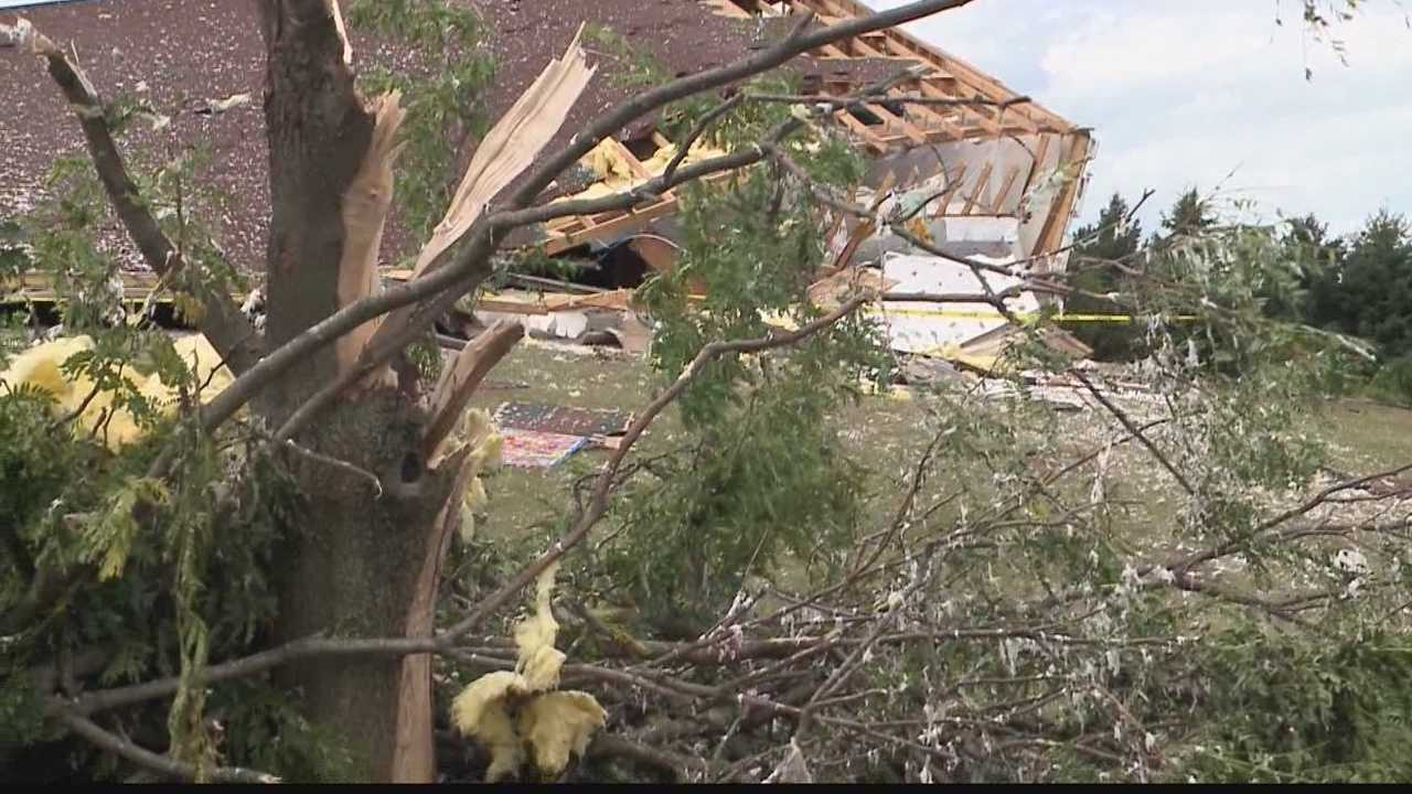 Storms did a lot of damage overnight in the Fox Valley area.