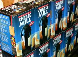 Gourmet Cheese Mill grids all sorts of things.