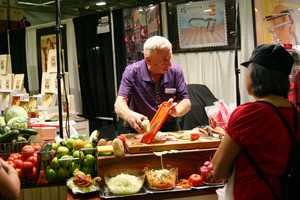 Demonstrations of all these must have products all over the Expo Center.
