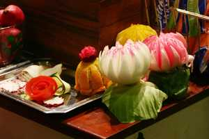 Who hasn't dreamed of turning fruits and vegetables into works of art?  Luckily at the Wisconsin State Fair every year there are plenty of gadgets to amaze you.