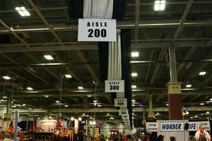 Row after row in the Expo Center of things to look at, sample and buy.