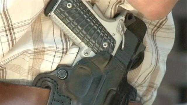 'Concealed carry' class held at Concertina Beer Hall