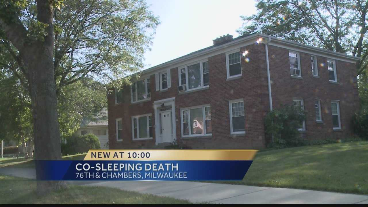 A 2-month-old baby dies from co-sleeping in Milwaukee.