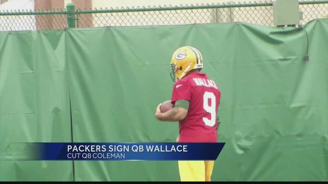 Newly signed veteran Seneca Wallace is going to have to brush up on the playbook in a hurry to get ready to back up Aaron Rodgers for Sunday's season opener in San Francisco.