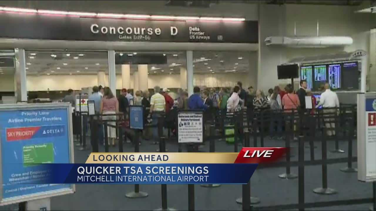 By the end of 2013, Milwaukee's Mitchell International Airport will be included in a TSA program that allows qualified travelers to bypass certain security requirements.