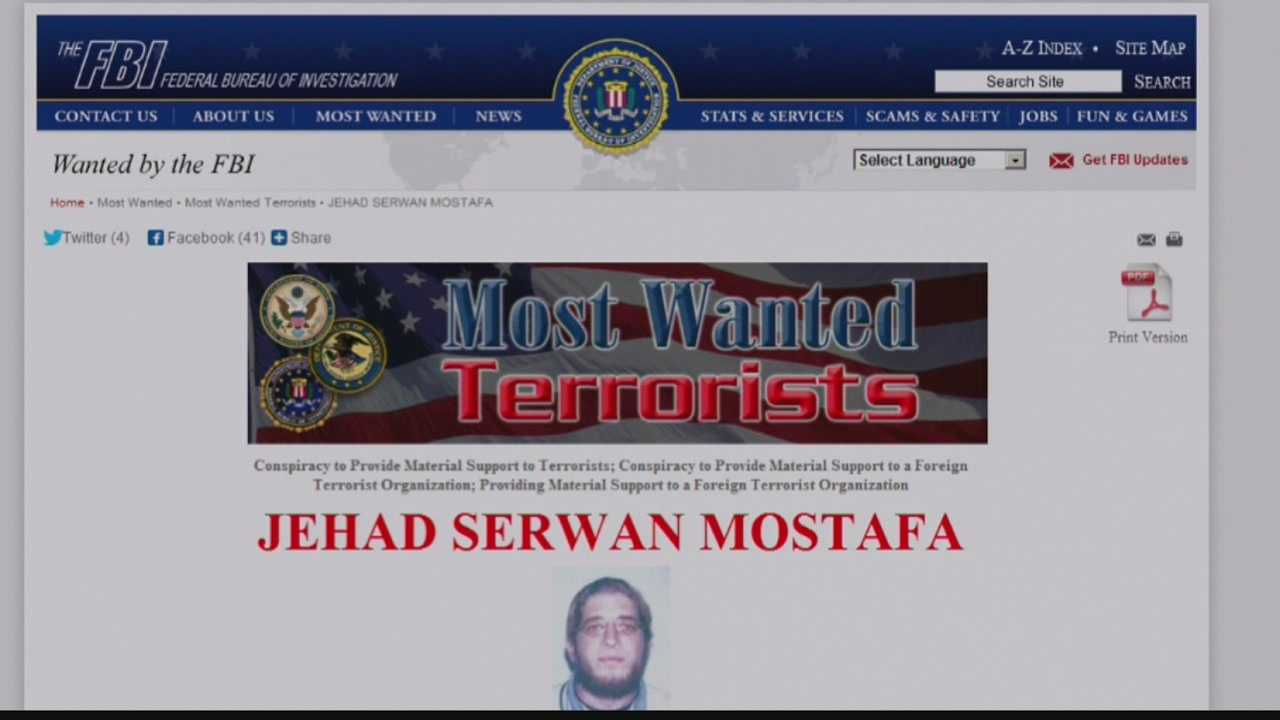 A $5 million reward is offered for information leading to the arrest of a Waukesha native on the FBI's most-wanted terrorist list.