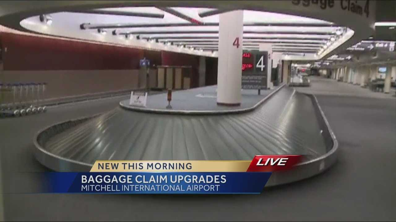 $45 million in upgrades are coming to the baggage claim area and parking ramp at Milwaukee's Mitchell International Airport.
