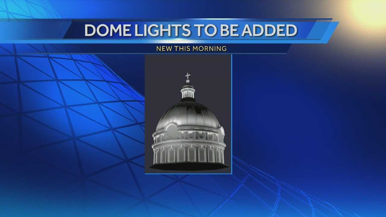 St. Josaphat Basilica will soon light the night sky
