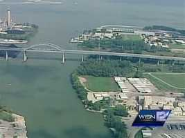 The Leo Frigo Bridge in Green Bay is closed indefinitely because part of it is sagging.