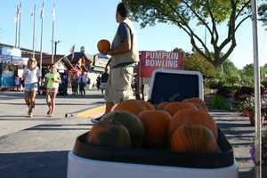 Pumpkin bowling?