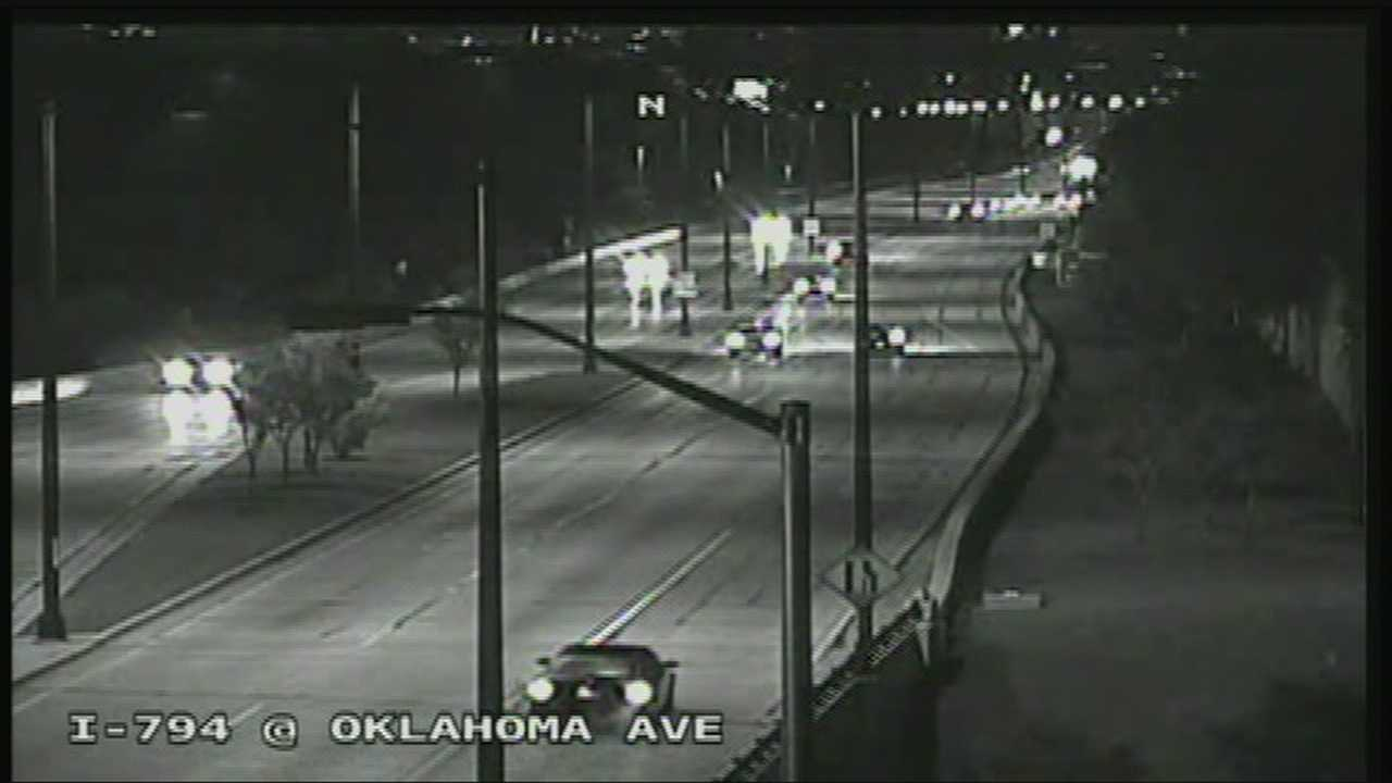 I-794 West reopens after early-morning crash