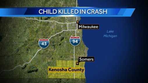 child killed map