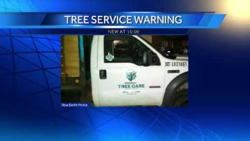 tree trimmer truck