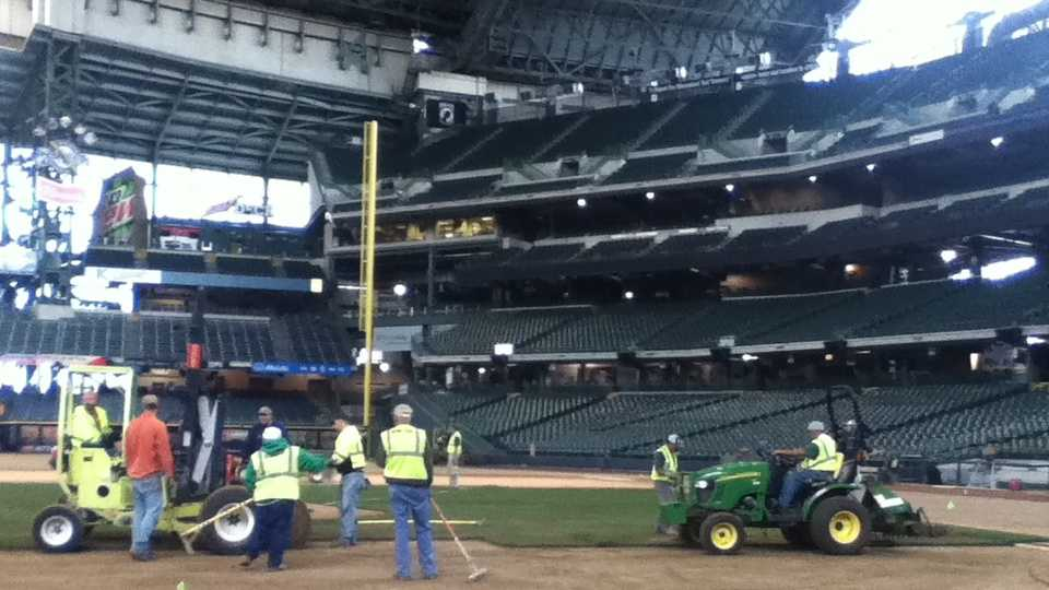 sod being put in