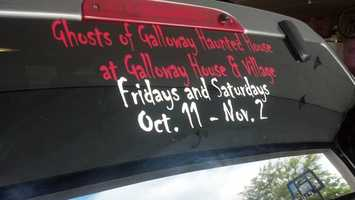 Ghosts of Galloway Haunted Village - 336 Old Pioneer Road, Fond du Lachttp://www.hauntedhouses.com/states/wi/galloway.htm