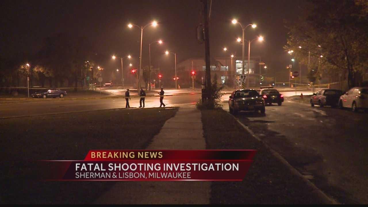 Milwaukee Police are investigating a fatal shooting near Washington Park at Sherman and Lisbon.