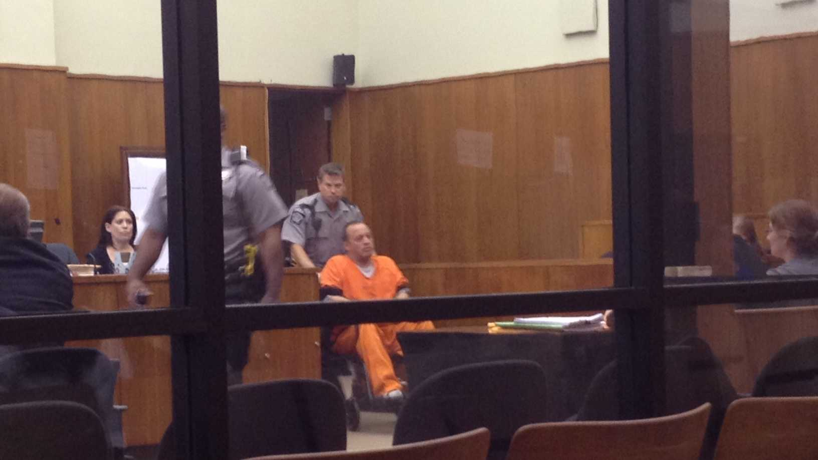 Hutchins in court