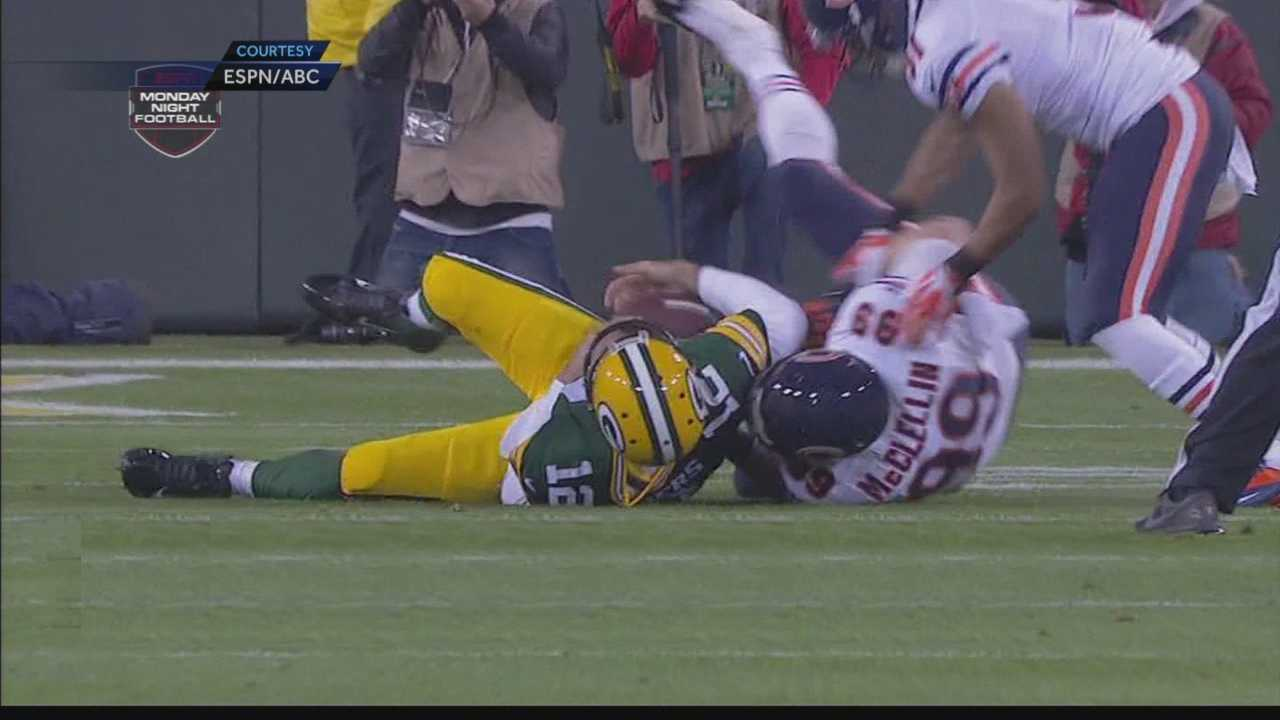 Packers fall to Bears 24-20