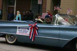 Grand Marshall- WWII Veteran Naomi Horwitz, US Army