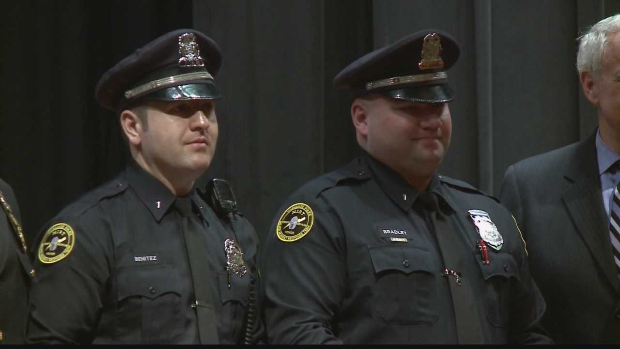 Milwaukee police officers honored for acts of bravery and heroism