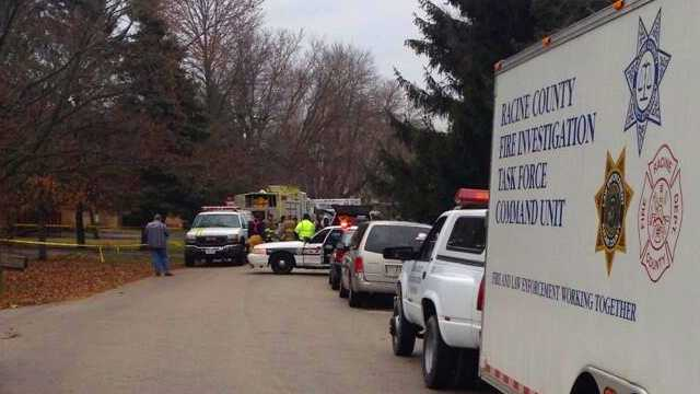 Body found inside burning Mount Pleasant home