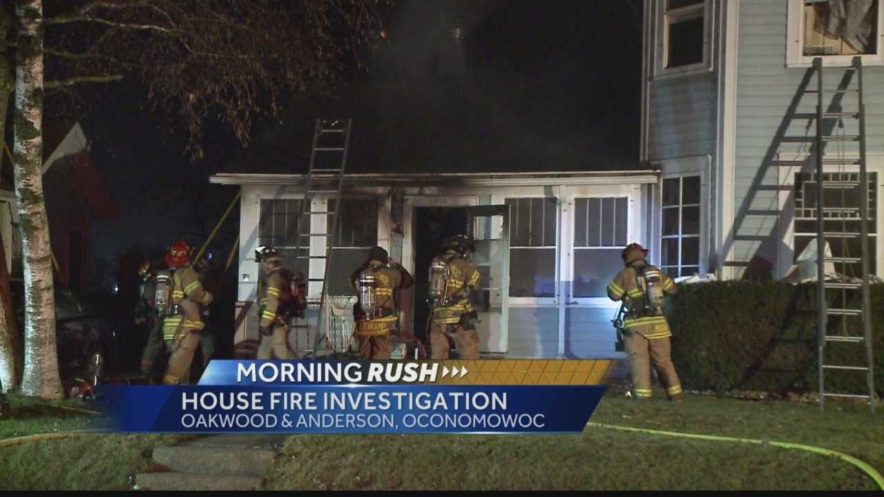 A house fire in Oconomowoc overnight killed four cats, and injured the homeowner.. who was transported to a hospital for treatment of smoke inhalation.