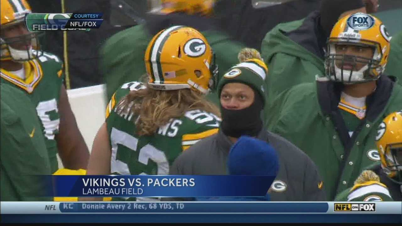 Sunday's Packers-Vikings game went all the way into overtime... but ended with a rare tied score.