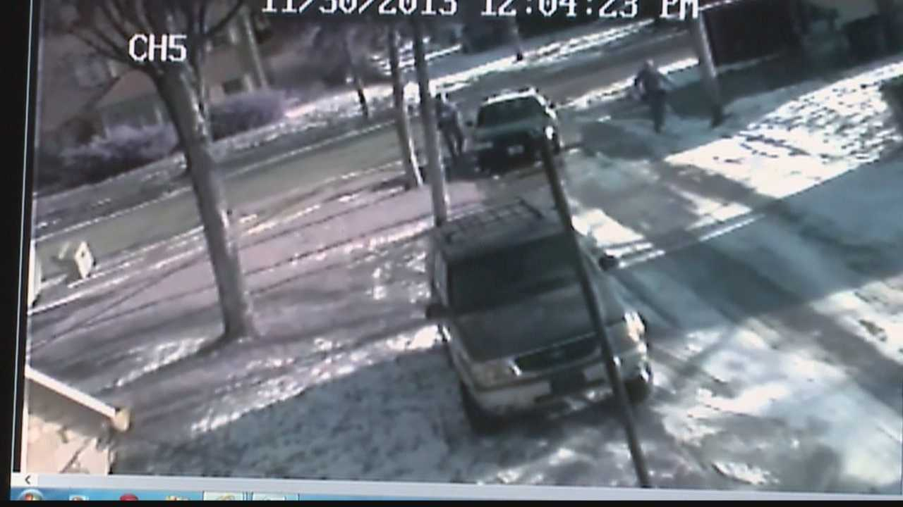 Officer involved shooting caught on home surveillance video