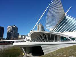 The Milwaukee Art Museum was once again the setting for a musical act.
