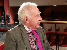 Doc Severinsen of course.  He has played his trumpet, conducted the Milwaukee Symphony Orchestra and sat down for candid conversations over the years.