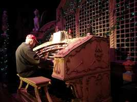 Fred Hermes of Caledonia did just that for the 3,000 pipe, 5-manual Wurlitzer organ.
