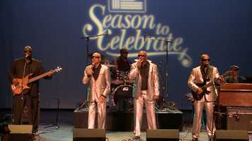 This year we were able to get a holiday performance from the Blind Boys of Alabama as part of the show.