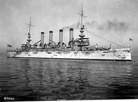 After two years of sea testing, the ship was commissioned on Dec. 10, 1906 and served on the west coast of the U.S.