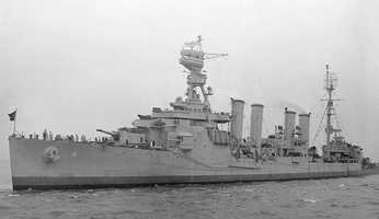 The USS Milwaukee (CL-5) was an Omaha-class light cruiser built in the 1920s. It was assigned to the Asiatic and Battle fleets through most of her career.