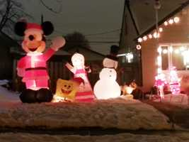 In 2012, $103,000 was raised during the run of Candy Cane Lane.