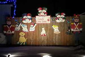 You can find Candy Cane Lane in West Allis, WI.  Bound by Montana Avenue on the north to Oklahoma Avenue on the south, and from 96th Street on the west, to 92nd Street on the east.